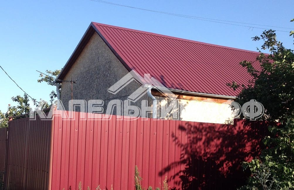 Крыша из профлиста в Энгельсе