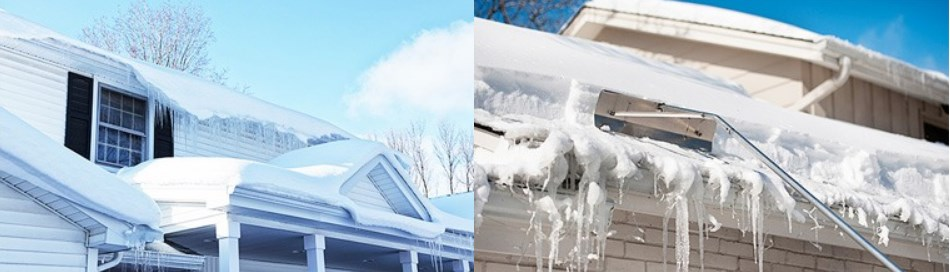 Ледяные наросты на крыше